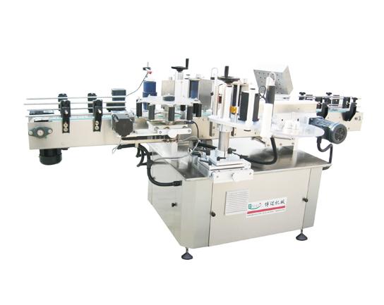 Star wheel type round bottle positioning adhesive Labeling Machine