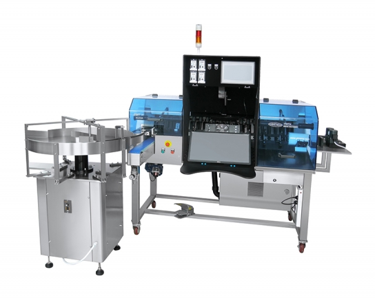 Semi automatic light inspection machine for syrup and large infusion