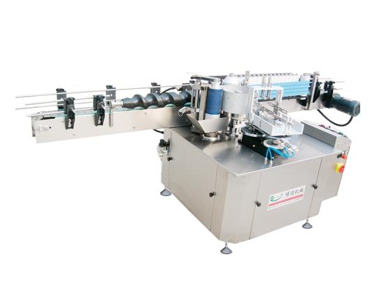 Linear single standard paste labeling machine