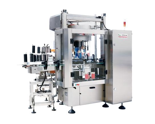 Multi purpose modular optical positioning rotary labeling machine