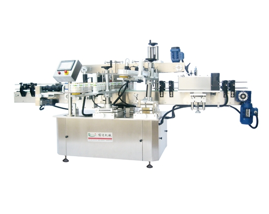 Linear multi-functional adhesive Labeling Machine