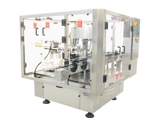 Low speed rotary adhesive Labeling Machine