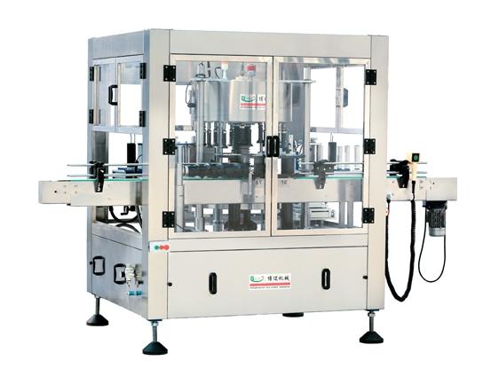 Medium and high speed rotary adhesive Labeling Machine